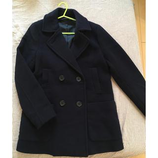 ユニクロ(UNIQLO)の コート( ユニクロ商品 ) Sサイズ(ピーコート)