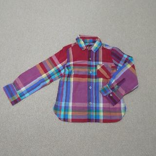 フィス(FITH)のFITHチェックシャツ110(Tシャツ/カットソー)