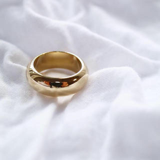 ゴールドワイドリング(リング(指輪))