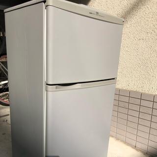 サンヨー(SANYO)の早い者勝ち❗️サンヨー冷蔵庫 簡易洗浄済み(冷蔵庫)