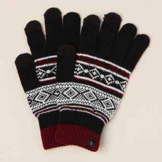 レイジブルー(RAGEBLUE)の新品 RAGEBLUE レイジブルー ニット タッチパネル グローブ 手袋(手袋)