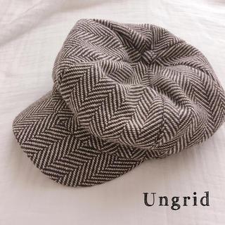アングリッド(Ungrid)のUngrid 帽子(キャップ)