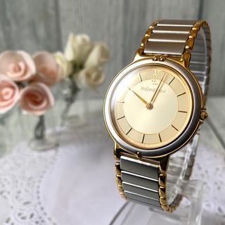 サンローラン(Saint Laurent)の【電池交換済】Yves Saint Laurent 腕時計 コンビ メンズ(腕時計(アナログ))