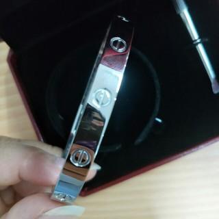 カルティエ(Cartier)のCartier カルティエ ブレスレット ラブブレス 19cm(ブレスレット)
