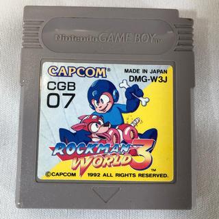 ゲームボーイ(ゲームボーイ)のROCKMAN WORLD3(家庭用ゲームソフト)