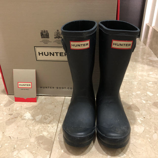ハンター(HUNTER)のハンター レインブーツ 17cm (長靴/レインシューズ)