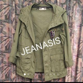 ジーナシス(JEANASIS)のJEANASIS/2wayミリタリーマウンテンパーカー(ブルゾン)