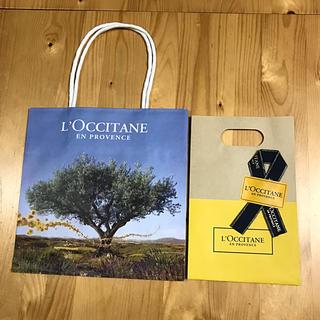 L'OCCITANE - ロクシタン紙袋  プレゼント用  (手提げ袋と中袋)