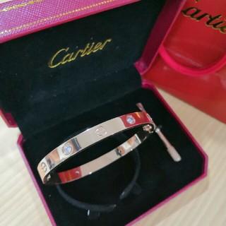 カルティエ(Cartier)の♥人気品 カルティエ ブレスレット 18k 本物 男女共用 (ブレスレット)