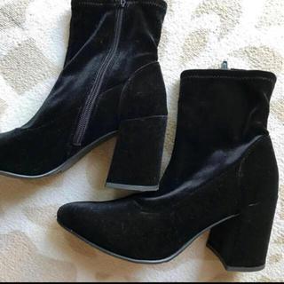 ジーユー(GU)のスウェード ブーツ(ブーツ)
