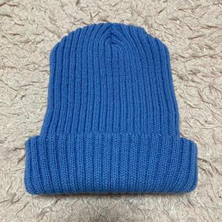 ウィゴー(WEGO)のWEGO ニット帽 ブルー(ニット帽/ビーニー)