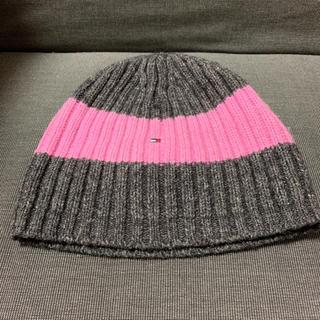 トミーヒルフィガー(TOMMY HILFIGER)のニット帽(ニット帽/ビーニー)