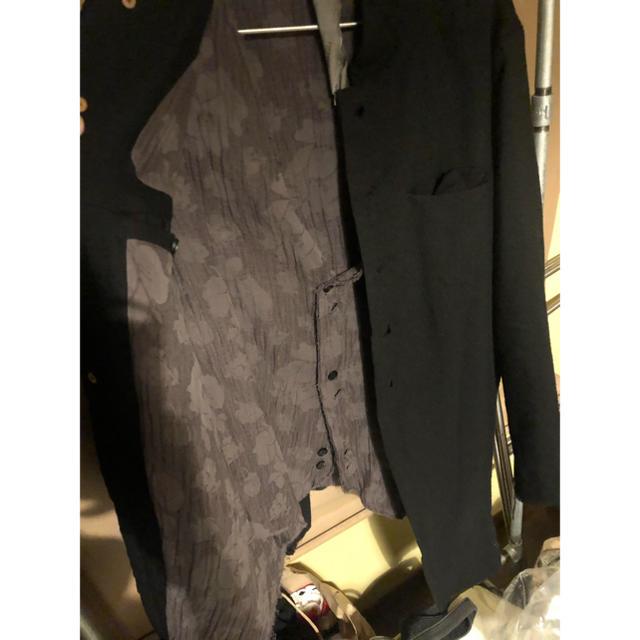 Paul Harnden(ポールハーデン)のvide様専用 aleksandr manamis レイヤードジャケット メンズのジャケット/アウター(テーラードジャケット)の商品写真