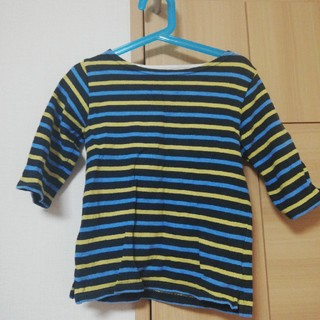 ビームス(BEAMS)のビームスミニ ボーダー七分丈(Tシャツ/カットソー)