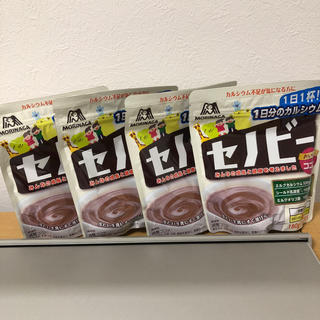 モリナガニュウギョウ(森永乳業)の約60日分 セノビー 4袋セット おいしいココア カルシウム不足の方に(その他)