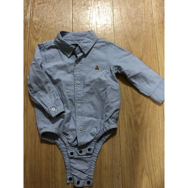 GAP(ギャップ)のGAP ギャップ シャツ ロンパース キッズ/ベビー/マタニティのベビー服(~85cm)(シャツ/カットソー)の商品写真