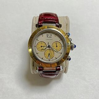 カルティエ(Cartier)のカルティエ メンズ腕時計 パシャ38mm(腕時計(デジタル))