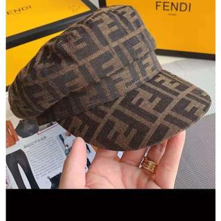 フェンディ(FENDI)のFendi フェンディ キャスケット キャップ(ハンチング/ベレー帽)