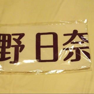 ノギザカフォーティーシックス(乃木坂46)の乃木坂46 北野 日奈子 上海限定 個別マフラータオル(アイドルグッズ)