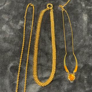 アヴァランチ(AVALANCHE)のゴールドネックレス ブリンブリン(ネックレス)