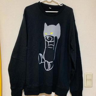 グラニフ(Design Tshirts Store graniph)のスウェット トレーナー グラニフ 黒 ブラック パーカー tシャツ(スウェット)