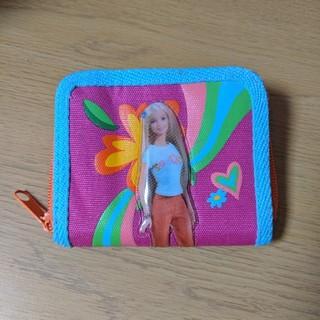 バービー(Barbie)のバービー 財布 二つ折り ピンク(財布)