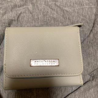 マッキントッシュフィロソフィー(MACKINTOSH PHILOSOPHY)の二つ折り財布(財布)