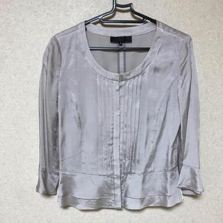 アンタイトル(UNTITLED)の薄手のジャケット(七部丈)(ノーカラージャケット)