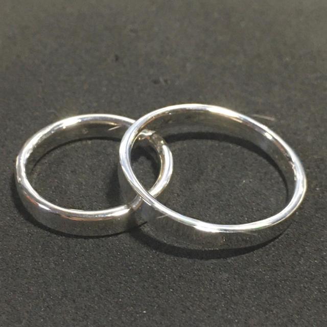 シルバー925製 ペアリング 2個セット 新品 送料無料 メンズのアクセサリー(リング(指輪))の商品写真