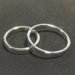 シルバー925製 ペアリング 2個セット 新品 送料無料(リング(指輪))