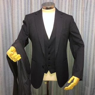 エービーエックス(abx)のabx スーツ 3 スリー ピース ジャケット パンツ Y5 ネイビー 紺(セットアップ)