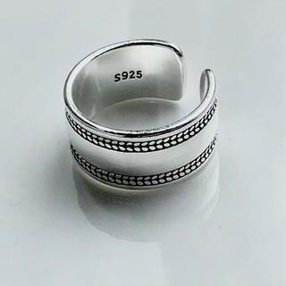 ユナイテッドアローズ(UNITED ARROWS)のヴィンテージ   ボヘミアン シルバー 925 リング(リング(指輪))