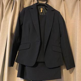 ニッセン(ニッセン)のプッチージョ スーツ3点セット ネイビーストライプ(スーツ)