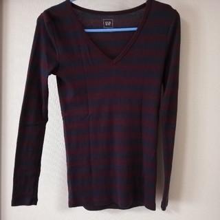 ギャップ(GAP)のGAP ボーダー 長袖Tシャツ(Tシャツ(長袖/七分))