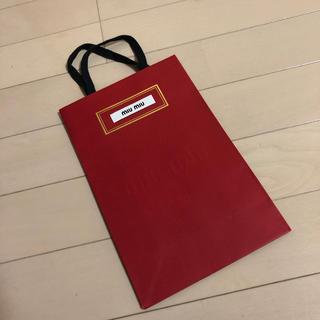 ミュウミュウ(miumiu)の紙袋 miu miu❤️(ショップ袋)