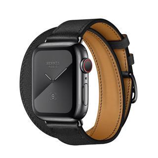エルメス(Hermes)のApple Watch エルメス スペースブラック ドゥブルトゥール 40mm(腕時計(デジタル))