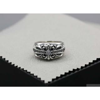 クロムハーツ(Chrome Hearts)のK155クロムハーツリング ダイヤ(リング(指輪))