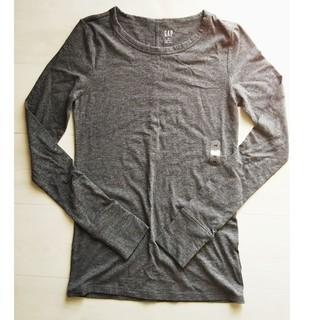 ギャップ(GAP)の新品 未使用 ギャップ GAP クルーネック Tシャツ 長袖 フェザーウェイト(Tシャツ(長袖/七分))