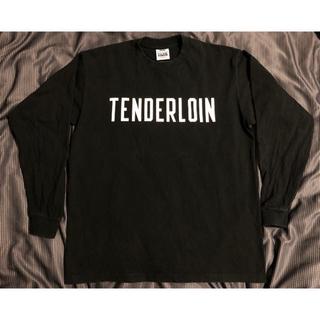 テンダーロイン(TENDERLOIN)のテンダーロイン ロンT 黒 L(Tシャツ/カットソー(七分/長袖))