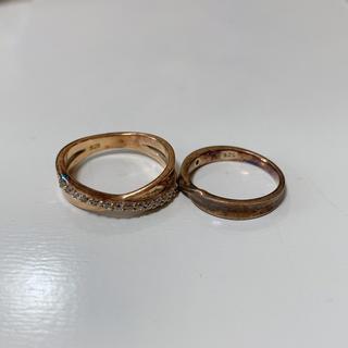 ブルーム(BLOOM)の2点セット✩シルバー925 指輪 リング(リング(指輪))
