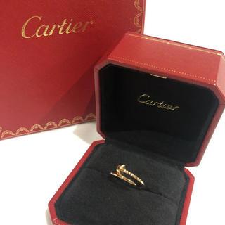 カルティエ(Cartier)のCartier カルティエ リング ジュストアンクル 750PG ピンクゴールド(リング(指輪))