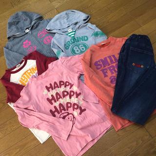 エーアーベー(eaB)のデコデコ様専用全てeab女の子 150 パーカー トレーナーなど6点(Tシャツ/カットソー)