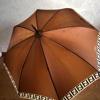 フェンディ(FENDI)のフェンディー★FENDY★撥水加工傘  レア  美品(傘)