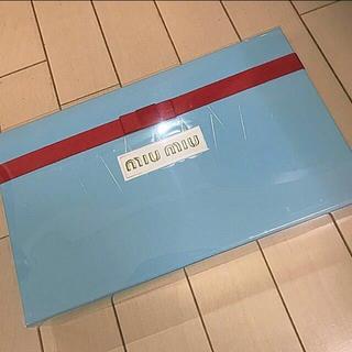 ミュウミュウ(miumiu)の美品 miumiu ボディーローション 空き箱(ショップ袋)