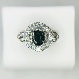 みたらし様専用 プラチナ アレキサンドライト ダイヤリング(リング(指輪))