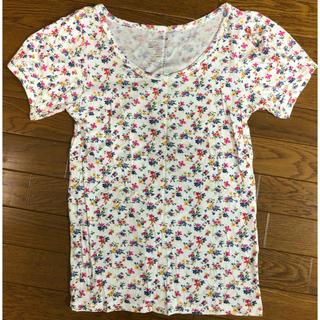 ヘザー(heather)の新品・未使用 heather 花柄Tシャツ ○*平日郵送致します*○(Tシャツ(半袖/袖なし))