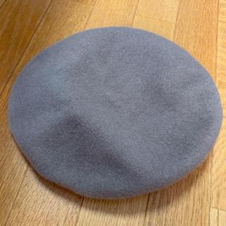 フリークスストア(FREAK'S STORE)のフリークストア ベレー帽 モカ カーキ タグ付き(ハンチング/ベレー帽)