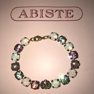 アビステ(ABISTE)のアビステ ABISTE ブレスレット  スワロフスキー (ブレスレット/バングル)