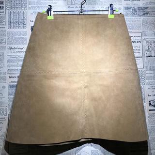 レイビームス(Ray BEAMS)のRay BEAMS レイビームス レザースカート サイズ1(ミニスカート)