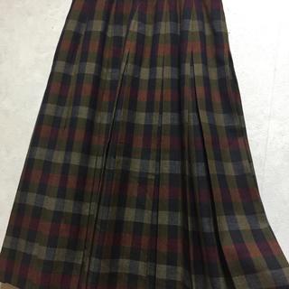 レリアン(leilian)のレリアンチェックスカート(ひざ丈スカート)